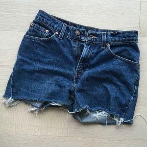 VINTAGE Levi's Cutoff 517 Shorts